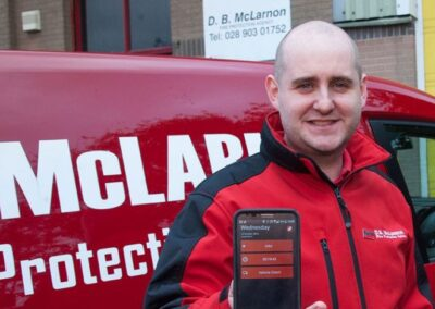 DB MCLARNON FIGHTS FIRE WITH WORKPAL