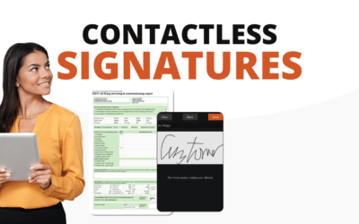 Say Hello To Contactless Signatures